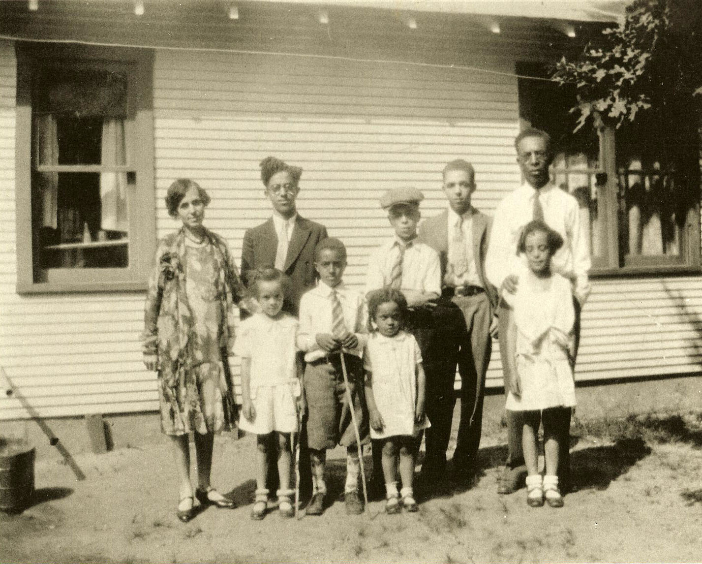 The Cleage Family at Idlewild about 1929