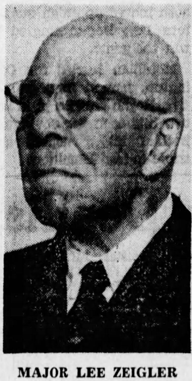 Major Lee Zeigler