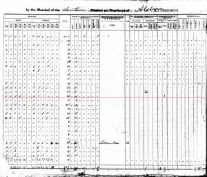1840 Long census pg 2 slaves