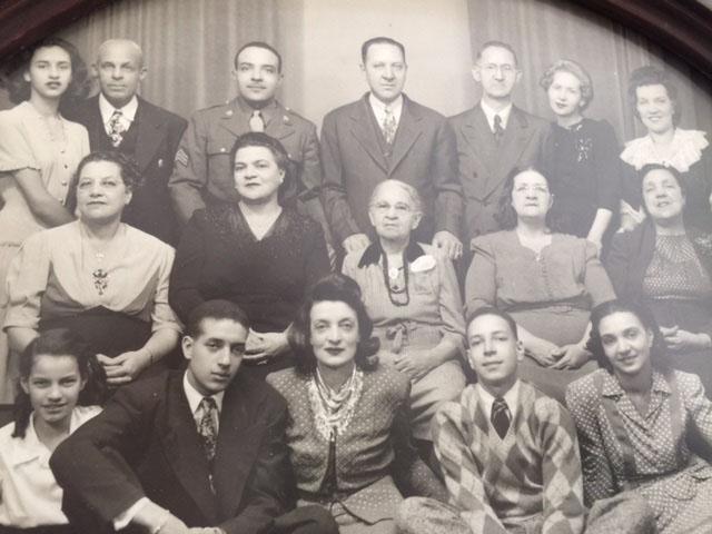 Three generations of the Adams Family 1940s
