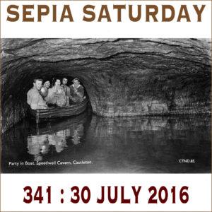 Speedwell Cavern Postcard
