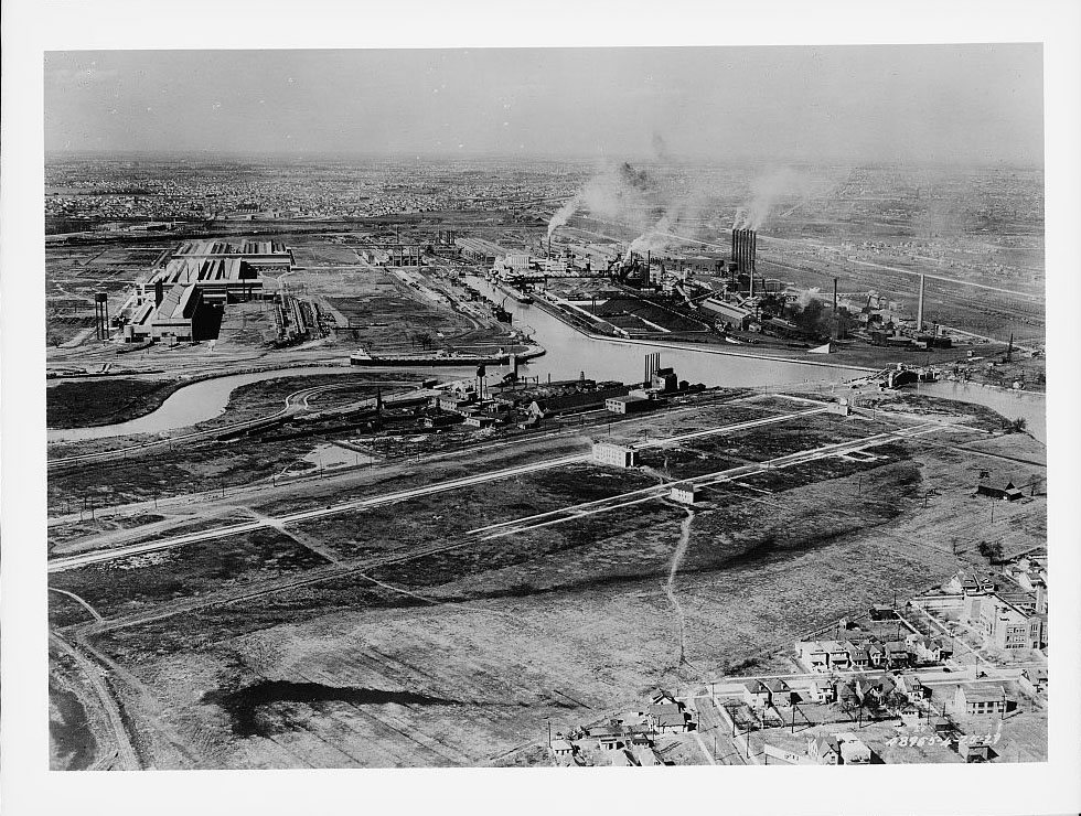 River Rouge Plant in Dearborn, Michigan.