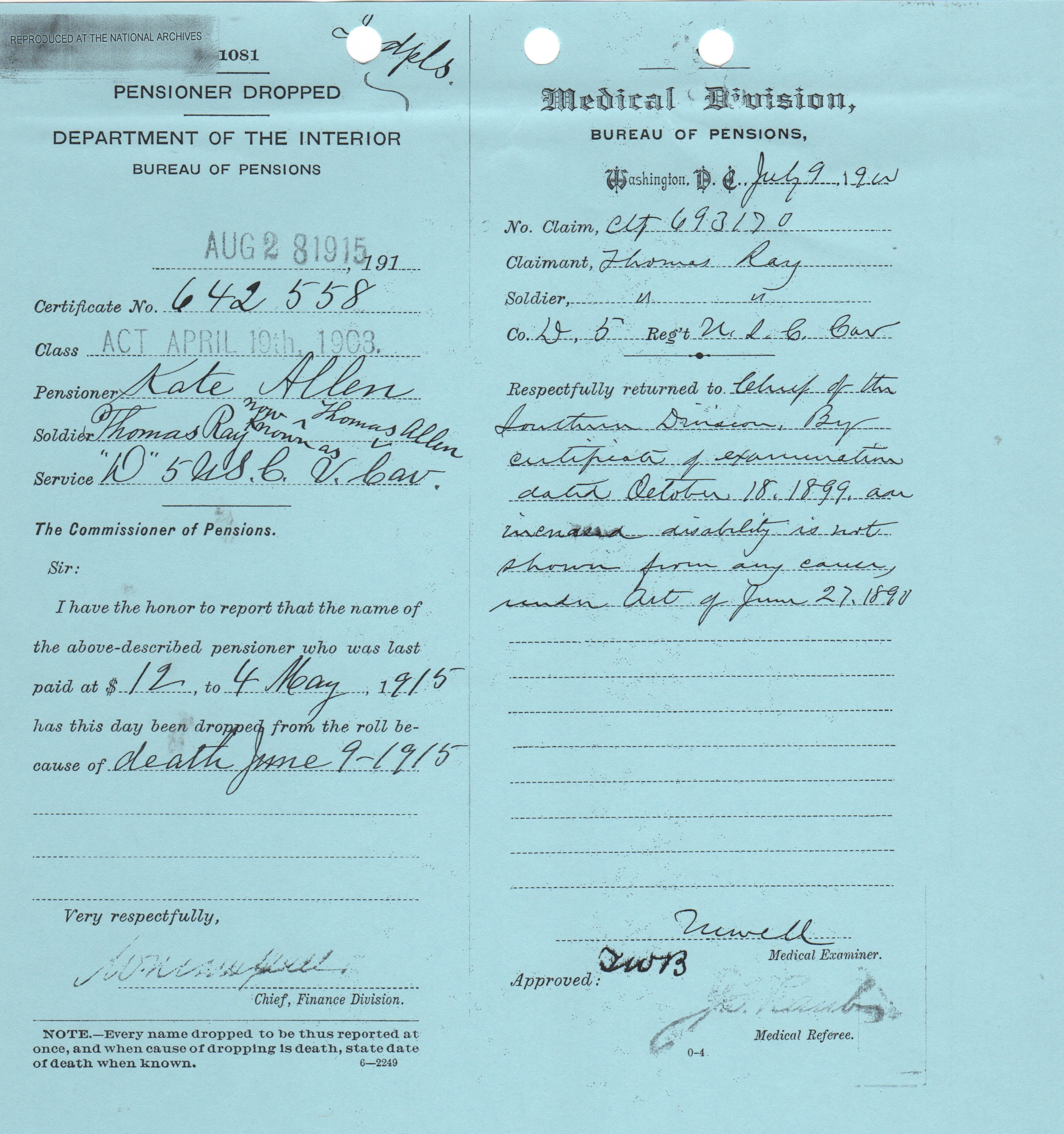 Thomas organ company pension - While Investigating The Life Of Kate Wiley I Found That Her Family Connected With Mine In Another Way Her Older Sister Francis Fannie Wiley Became The