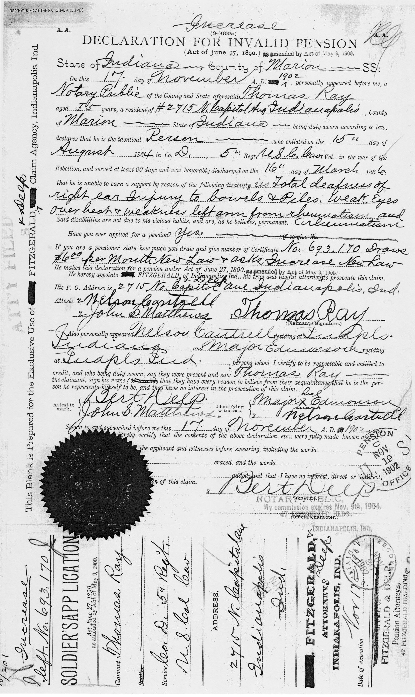 Thomas organ company pension - The Earliest That I Found Major Edmondson In A Record Was His 1884 Marriage License On October 8 1884 He Married Lucy Elms In Manhattan New York